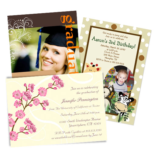 Invitations customisées