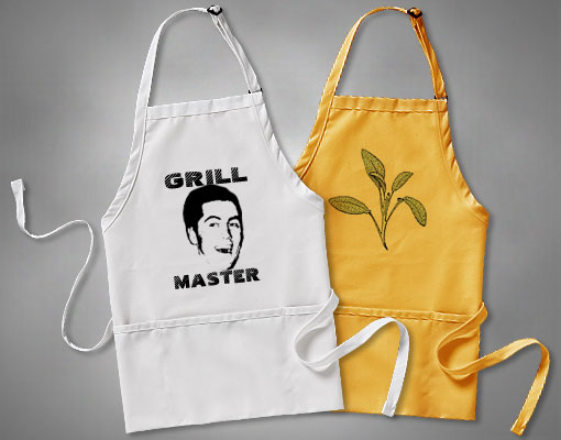custom aprons picture