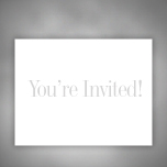 Invitations - Learn More