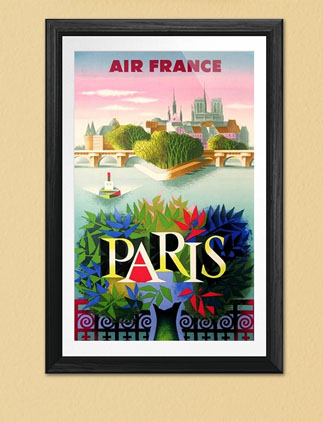 Browse our Collection of Travel Posters and personalize by color, design, or style.